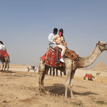 visit to giza pyramids and camel ride with egypt tours for you