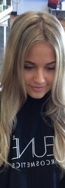 Long fresh Blonde!