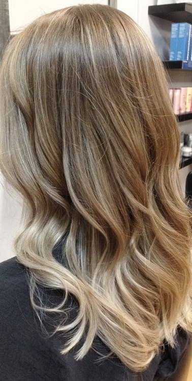 Blonde colouring