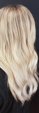 Light milky blonde!