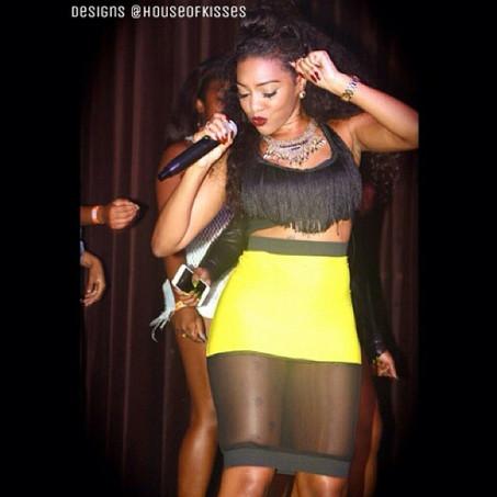 @Cocokissme rocking the mic