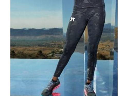 Ladies Camo Leggings Full-length