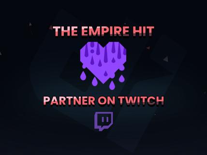 Twitch Partner Achieved!