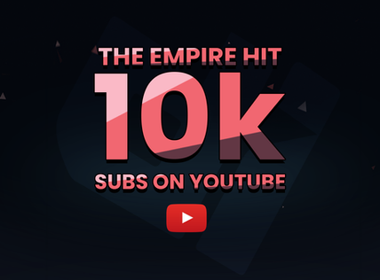 10k Subs on YouTube!