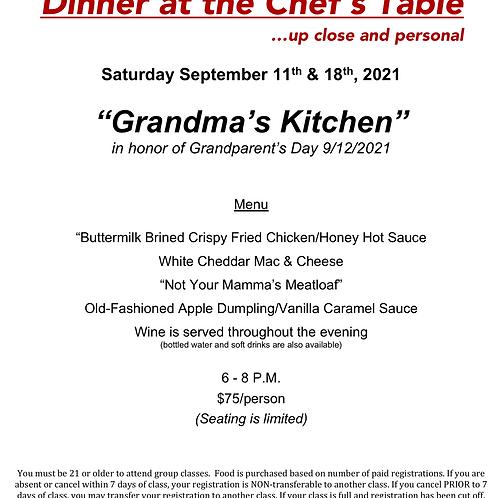 """Grandma's Kitchen"" Saturday September 18th @ The Cosmopolitan #12"