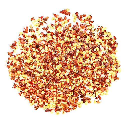 Bourbon Smoked Red Chili Flakes 1/4  pound