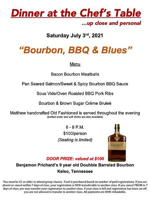 """Bourbon, BBQ & Blues"" Saturday July 3rd @ The Cosmopolitan #12"