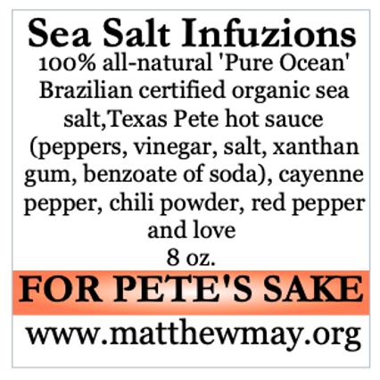 For Pete's Sake 8 oz.