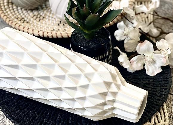 Deco décor - white vase