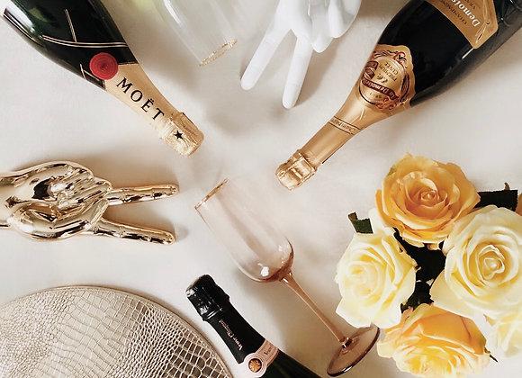 Gatsby Gold  - Champagne glass