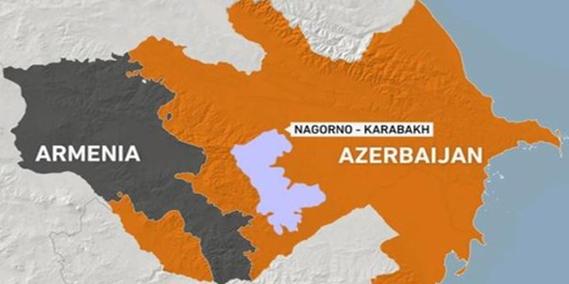 Mapa del área en conflicto