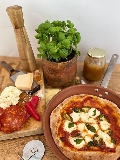 Spicy Cured Chorizo & Honey Build A Slice DIY Pizza Kit for 2