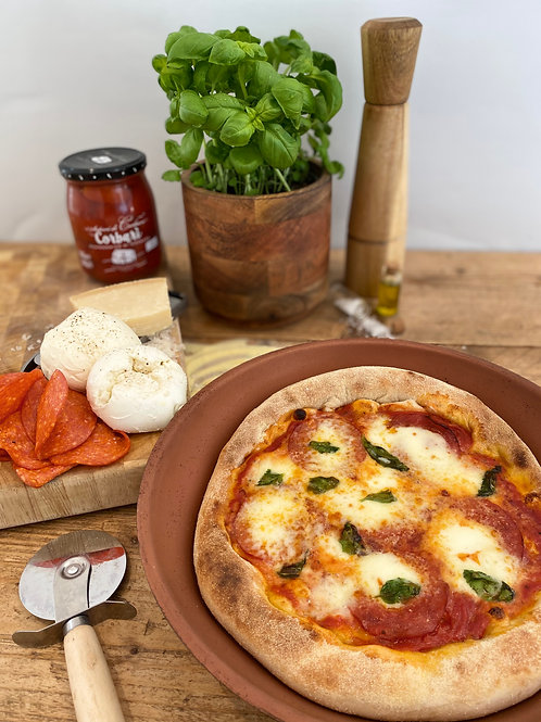 Double Pepperoni Build A Slice DIY Pizza Kit for 2
