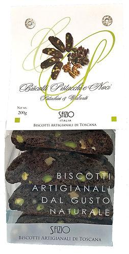 Biscotti pistacchi e noci
