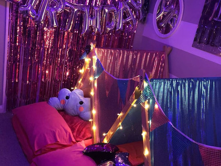 Half term sleepovers for children!! Sleepover party hire equipment. We still have some availability