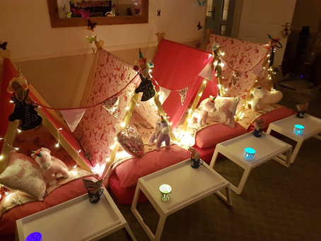 Unicorn sleepover party in Colchester Essex