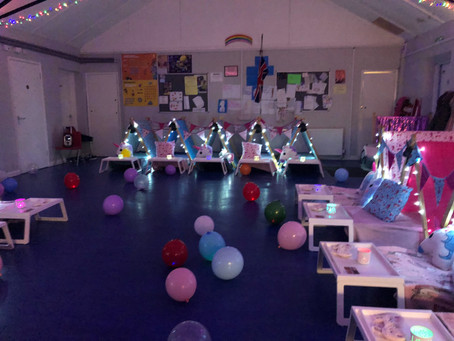 🌈🦄Rainbows sleepover with unicorns and mermaids 🧜‍♀️ hayes Middlesex
