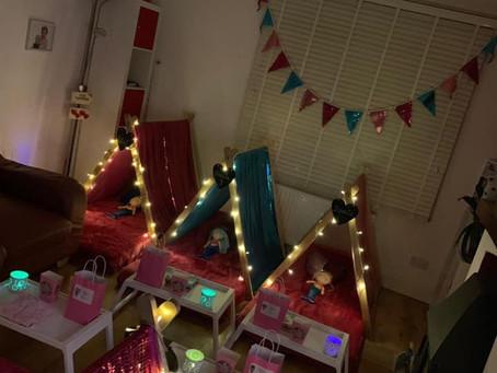 Mermaid indoor TinyTentsin Colchester Essex