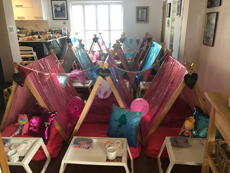 Mermaid party for 10!! Wow!