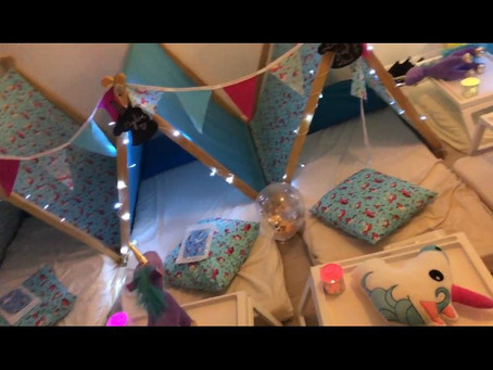 Glamping for kids birthday party in High Wycombe