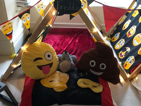 Emoji sleepover in Beaconsfield