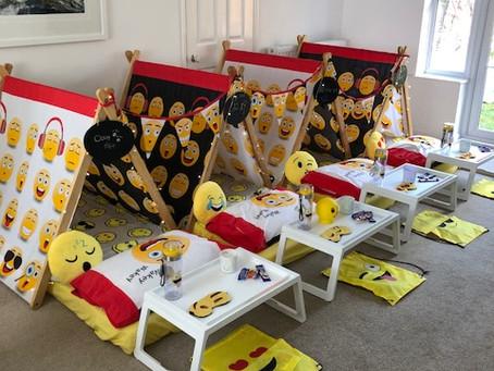 Emoji party in full swing tonight!! 😜😍😘😱😁😊💩😂😃