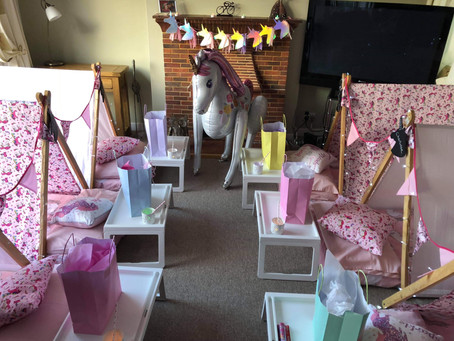 Unicorn slumber sleepunder Tents in Rickmansworth Middlesex