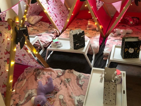 Unicorn sleepover tents  in Colchester - essex