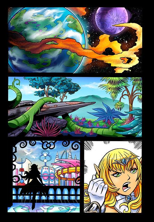 Galatune Comic Book