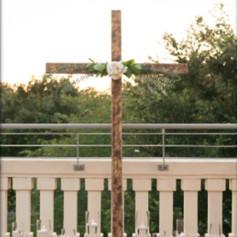 Wooden Ceremony Cross