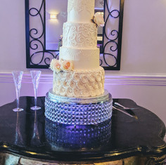 """18"""" Bling Cake Stand"""