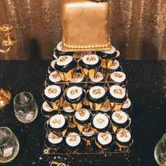 Cupcake/Cake Tower