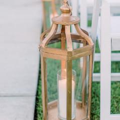 Moroccan Gold Lantern
