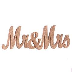 Rose Gold Mr & Mrs