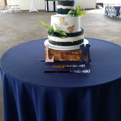 14x14 Wooden Cake Box