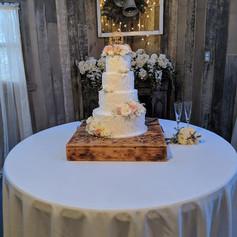 24x24 Wooden Cake Box