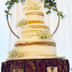 Tree Slice Cake Stand
