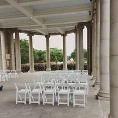White Padded Vinyl Chairs