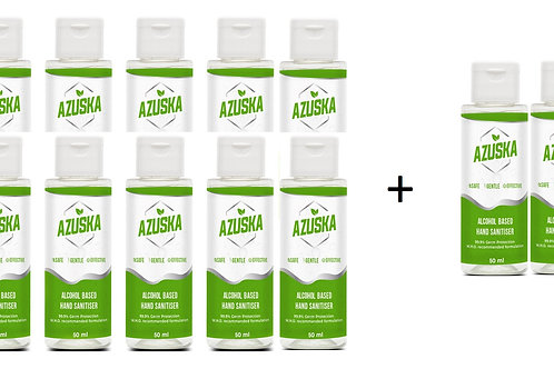 Azuska combo pack- 50 ml (10+2)