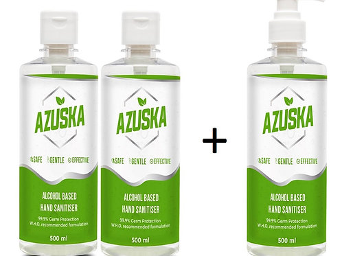 Azuska combo pack- 500ml (2+1)