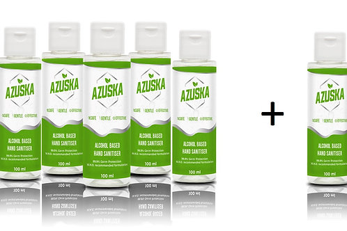 Azuska combo pack- 100ml (5+1)