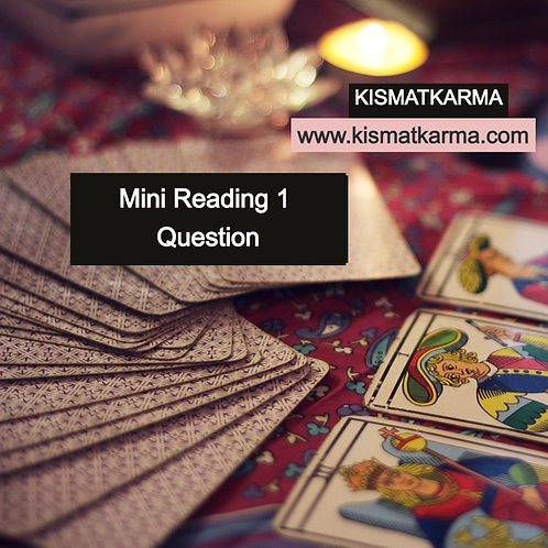 Live - 1 Question Reading