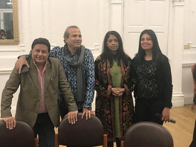 With SINGERS Anup Jalota, Kavita _ other