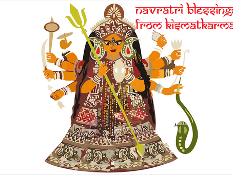 NAVRATRI LUCKY COLOURS 9 DAYS OF BLESSINGS