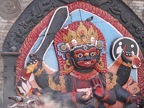 Kala Bhairava Blessings Token