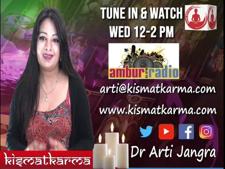 Kismatkarma on Ambur Radio Wednesday wisdom
