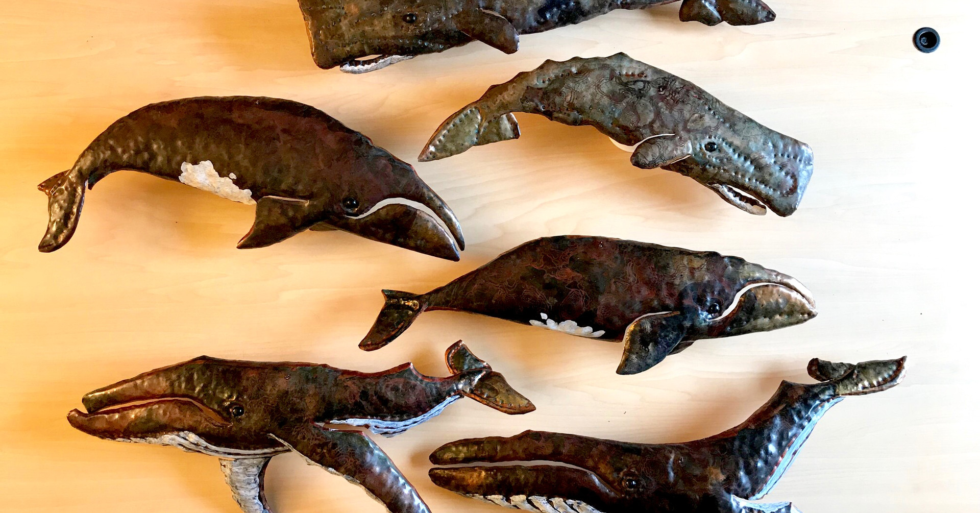 Copper Whales