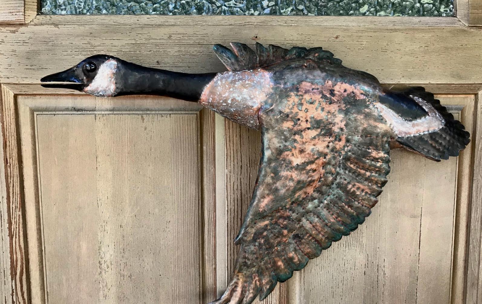 Copper Canada Goose