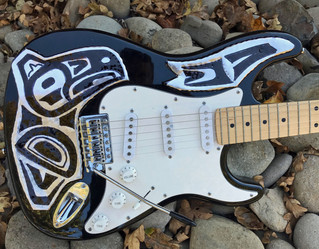 Eagle Spirit Aluminum Electic Guitar