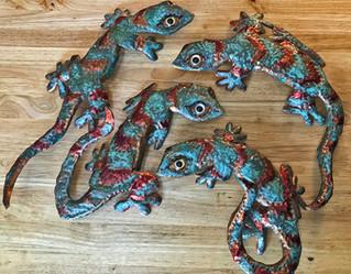 Copper Geckos